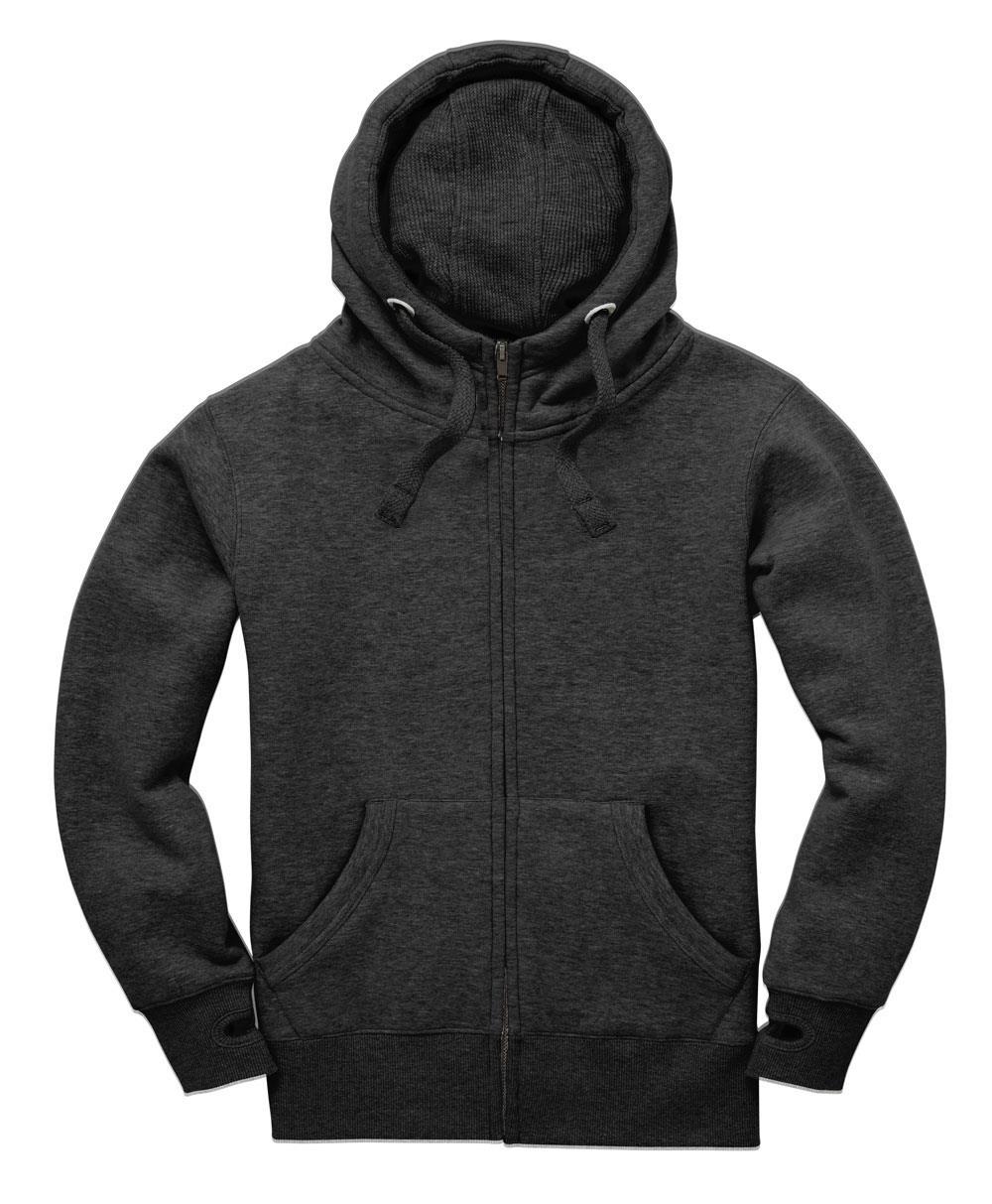 Peach Finish Zip hoodie
